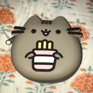 Pusheen cat Japanese coin pouch.